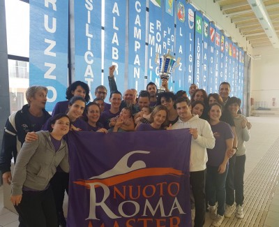 9º Memorial Brunelleschi – Roma Nuoto Master vittoriosa!